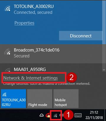 Máy tính bạn không vào được mạng dây