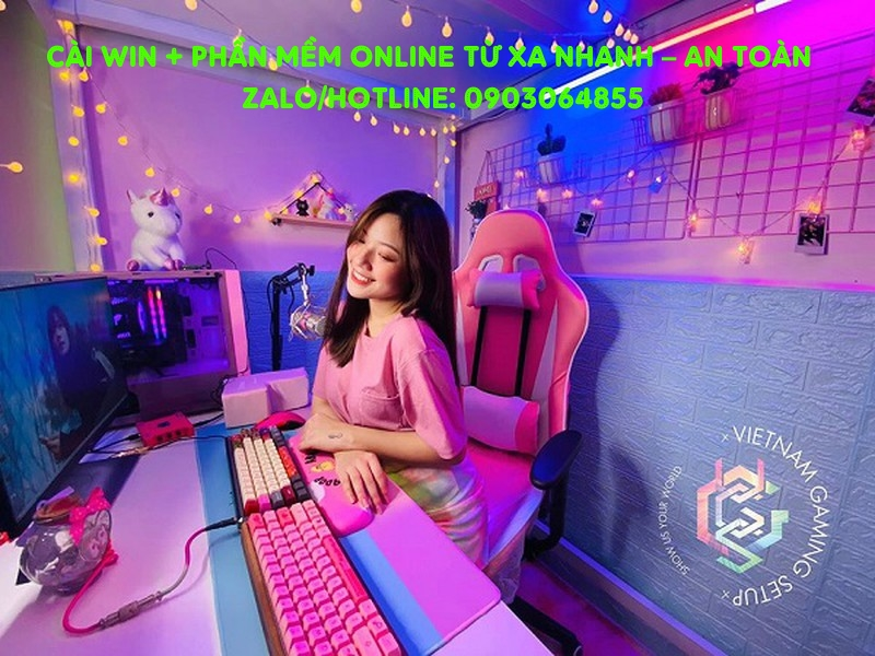 Sửa cài đặt Win phần mềm máy tính online Trà Vinh