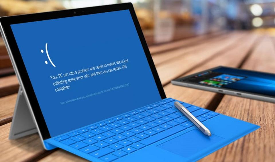 Các lỗi thường gặp trong máy tính laptop