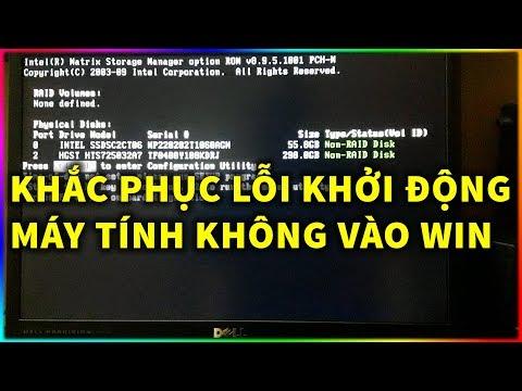 Hiện tượng máy tính bị lỗi win
