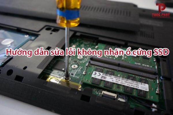 Lỗi laptop Dell không nhận ổ cứng