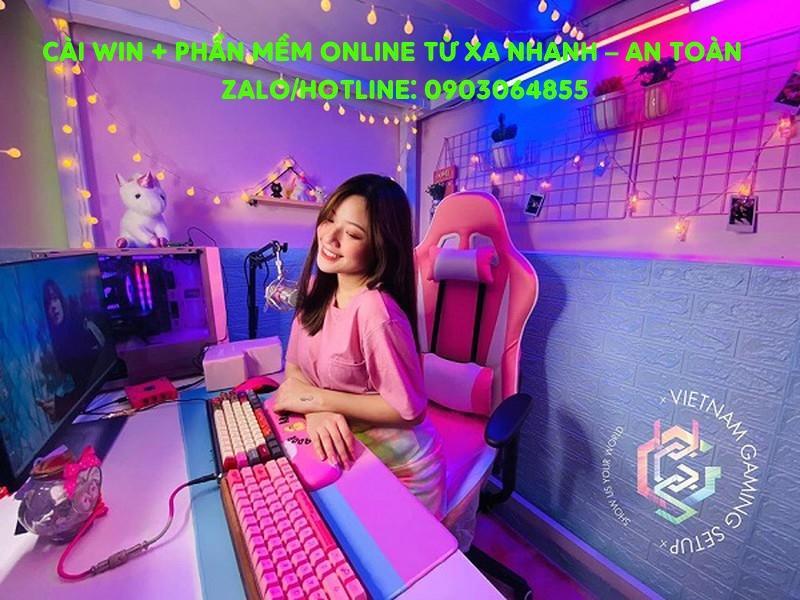 Sửa cài đặt Win phần mềm máy tính online Ninh Bình