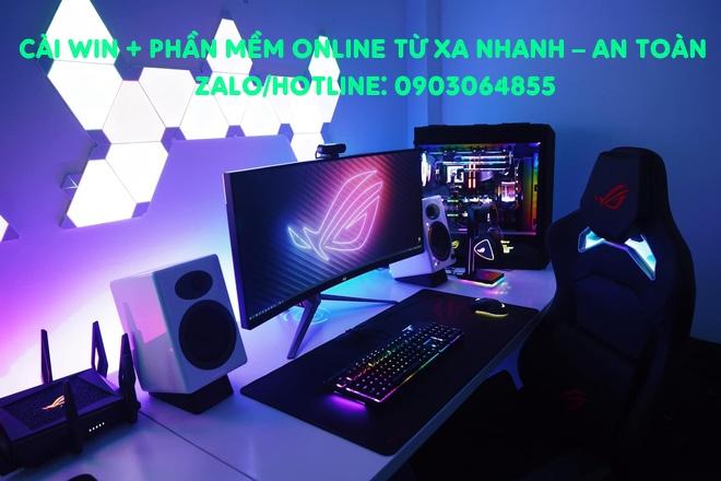 Sửa cài đặt Win phần mềm máy tính online Việt Trì