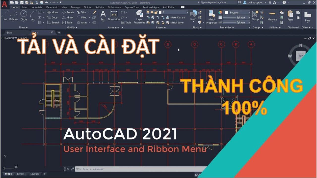Autocad 2021 Full Crack | Download tải hướng dẫn Cài đặt
