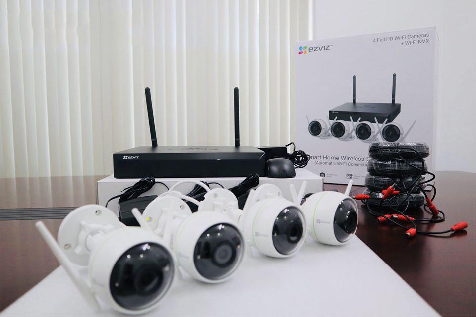 Báo giá Lắp đặt trọn gói Camera không dây giá rẻ tận nhà