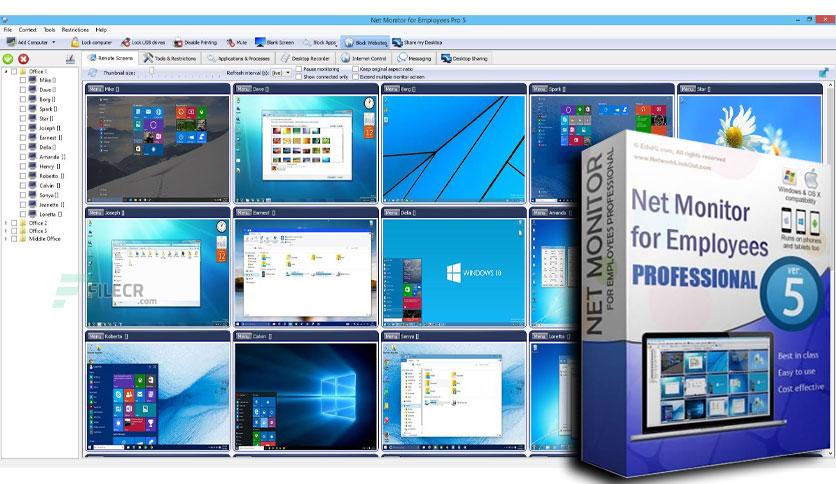 Cài đặt phần mềm Quản lý giám sát theo dõi công việc nhân viên