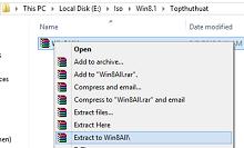 Chi tiết cách cài đặt Windows trực tiếp trên ổ cứng HDD