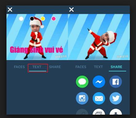 GIF chủ đề Giáng sinh được tạo ra bởi chính bạn