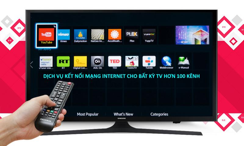Lắp mạng kết nối internet cho tivi thường