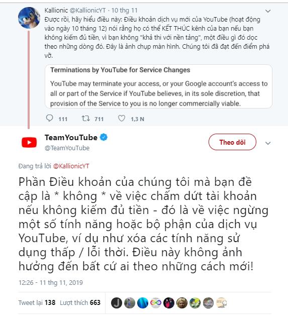 Sự thật Youtube khóa tài khoản người dùng chặn quảng cáo là Sai