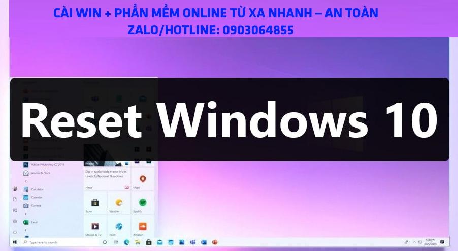 Sửa cài đặt Win phần mềm máy tính online Bảo Lộc