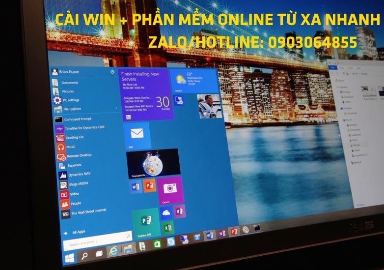 Sửa cài đặt Win phần mềm máy tính online Buôn Ma Thuột