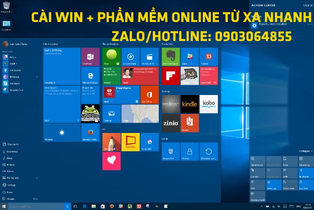 Sửa cài đặt Win phần mềm máy tính online Cà Mau