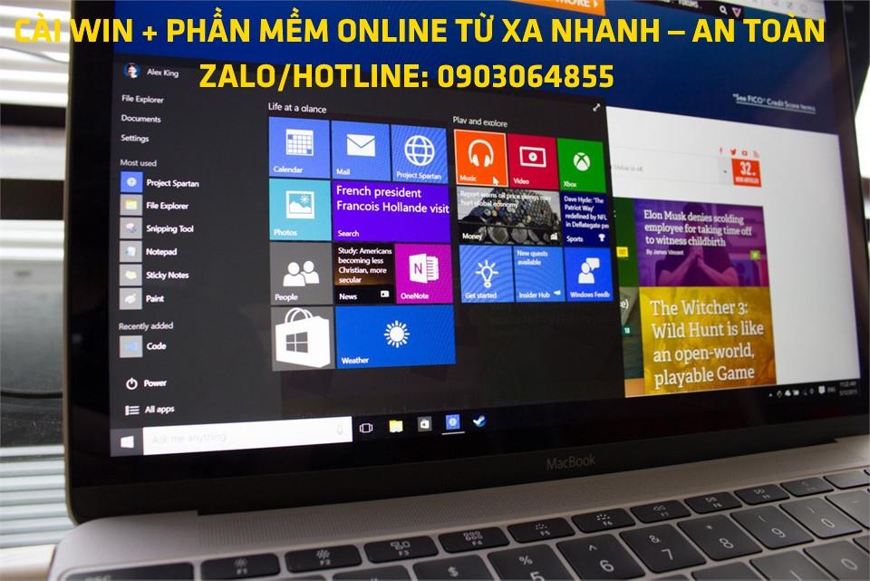 Sửa cài đặt Win phần mềm máy tính online Cao Bằng
