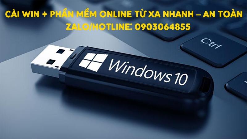 Sửa cài đặt Win phần mềm máy tính online Lai Châu