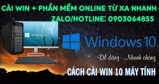 Sửa cài đặt Win phần mềm máy tính online Rạch Giá
