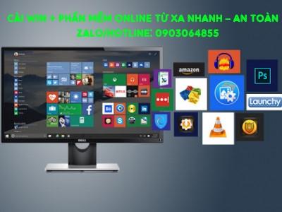 Sửa cài đặt Win phần mềm máy tính online Sơn La