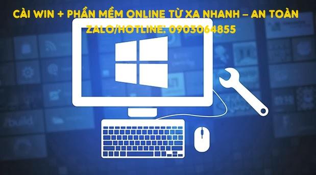 Sửa cài đặt Win phần mềm máy tính online Tam Kỳ