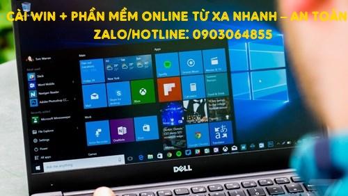 Sửa cài đặt Win phần mềm máy tính online Tân An