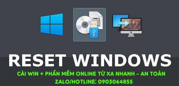 Sửa cài đặt Win phần mềm máy tính online Vũng Tàu