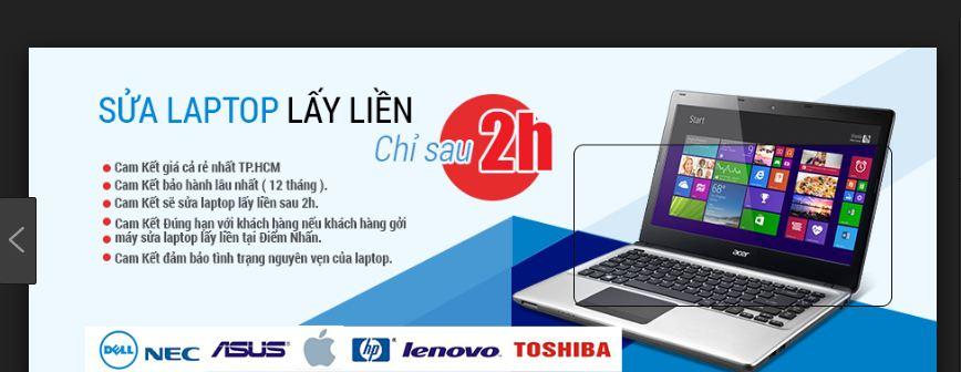 Sửa chữa laptop quận 12