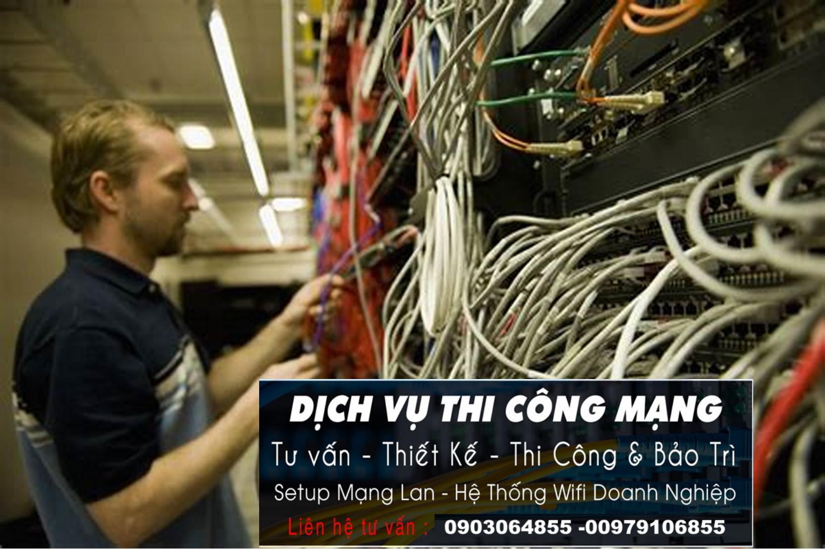 Sửa chữa mạng Internet tại nhà quận 2