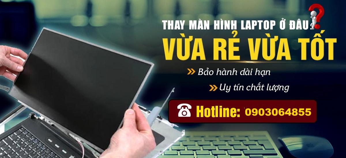 Sửa màn hình laptop bị sọc, Thay màn hình laptop TPHCM