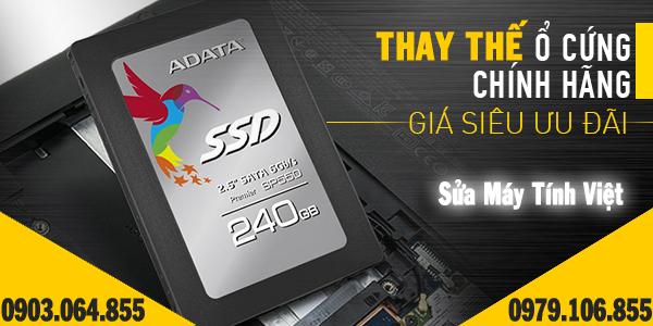 Thay ổ cứng SSD tại nhà