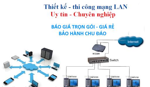 Thi công lắp đặt mạng Lan wifi Net cho Công ty Doanh nghiệp