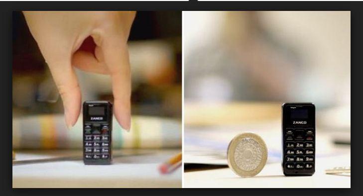 Zanco Tiny T1: Điện thoại nhỏ nhất thế giới, trang bị màn hình OLED, nặng chỉ 13g, giá bán dự kiến 1,2 triệu đồng
